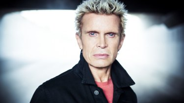 Big plans: Billy Idol, who is touring Australia next month, plans to bring his autobiography to the stage.