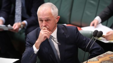 """""""Our view is that you can't just sit back, cross your fingers and hope that everything will turn out OK,"""" Mr Turnbull saidl."""