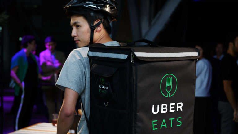 Uber Eats and other online takeaway giants are increasingly popular with consumers.