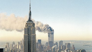 The World Trade Centre on September 11, 2001.
