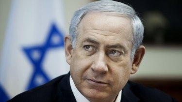 Israeli Prime Minister Benjamin Netanyahu in Jerusalem on Sunday.