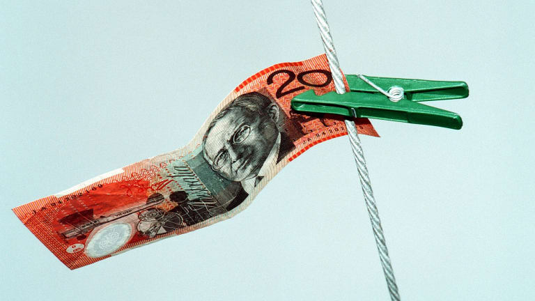 Crime groups are washing millions a day of dirty money through Australia's big banks.