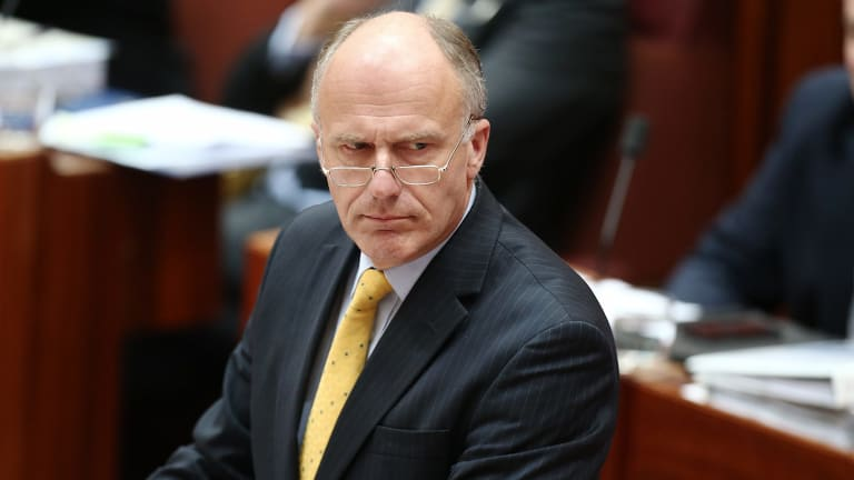 Employment Minister Eric Abetz.