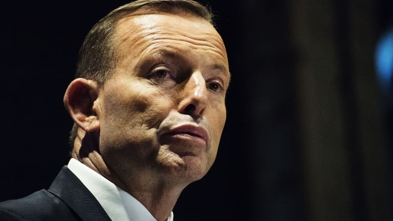 """The thing that worries me about so many of the contributions to our national conversation is that in the end they're all about increasing taxes"": Prime Minister Tony Abbott."