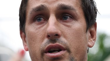 Secretly filmed: Mitchell Pearce was disgraced after Australia Day antics.