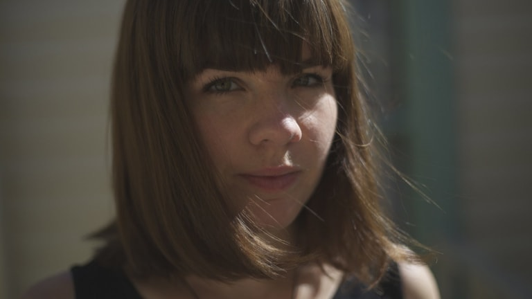 Growing fanbase: Hollie Fullbrook, aka Tiny Ruins, has 'clocked life' via her work with filmmaker David Lynch.