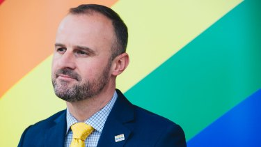 ACT Chief Minister Andrew Barr has said the pro-same sex marriage campaign will not involve advertising.