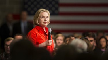 Hillary Clinton in her bid to be the Democratic candidate for president.
