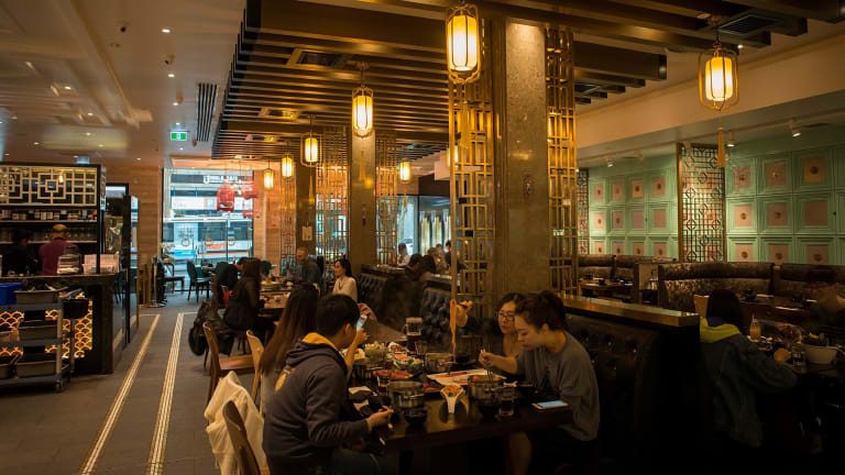 The Fair Work Ombudsman has commenced legal action in the Federal Circuit Court against the companies behind Tina's Noodle Kitchen in Box Hill and Dainty Sichuan, pictured.