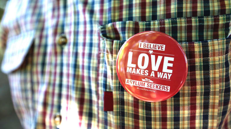 Belated, selective, passive-aggressive, toy-brandishing, arrest-me, social-media grandstanding: The Love Makes A Way activists.