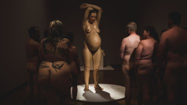 Art Buff, a naked tour of Hyper Real, was the most public event.