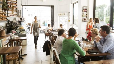 Shuk Cafe is Israeli by heart, Mediterranean on paper, Bondi by postcode and very Australian in its multicultural scope.