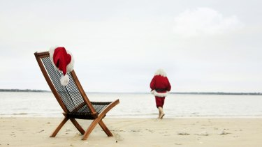 Even Santa Might Head To The Beach On Christmas Day In Perth