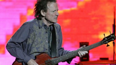 Classically-trained: Jack Bruce at a Cream reunion in 2005.