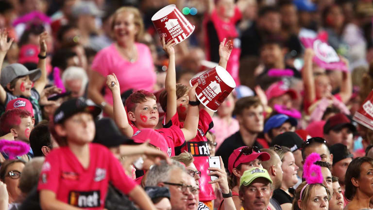 Bash smash: The Big Bash has been a hit again this summer with fans.