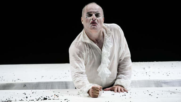 Christopher Purves in Barrie Kosky's Saul.