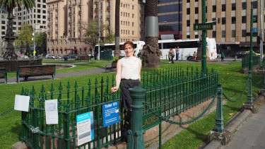 For How Long Must I hold On? is a walking tour of Melbourne's historic public toilets for women.
