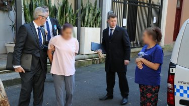 Police allege the nine people were involved in supplying heroin and cocaine in Kings Cross.