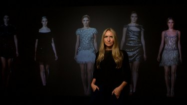 Fashion designer Collette Dinnigan is showcasing a retrospective of her career at the Powerhouse Museum.