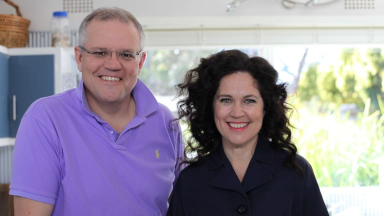 Leave to rise: Scott Morrison on Kitchen Cabinet with Annabel Crabb.