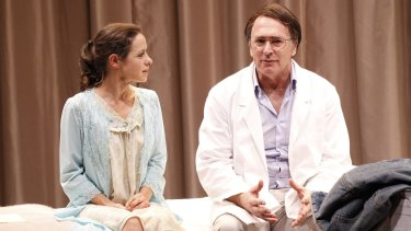 Kate Atkinson and Greg Stone in <i>The Waiting Room</i>.