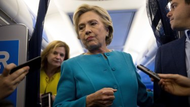 Hillary Clinton conceded defeat.