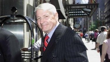 Media tycoon John Malone in 2002.