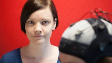 Kate Hoy is trialing a brain stimulation treatment on people with early stage Alzheimer's.