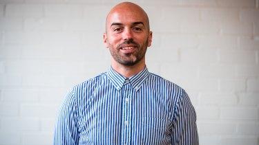 SAMPLE Brew founder Vedad Huric.