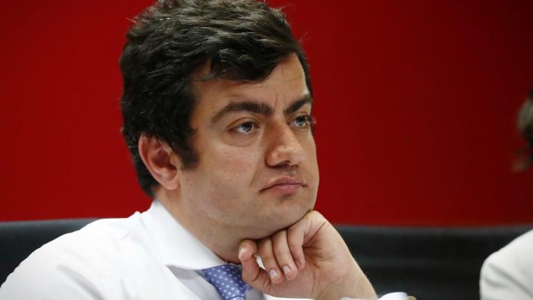 Labor senator Sam Dastyari is calling for a ban on political donations.
