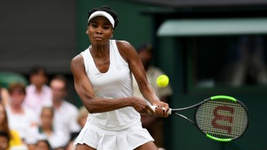 Venus Williams had been striving to become the oldest women's champion on London's hallowed grass courts in 109 years.