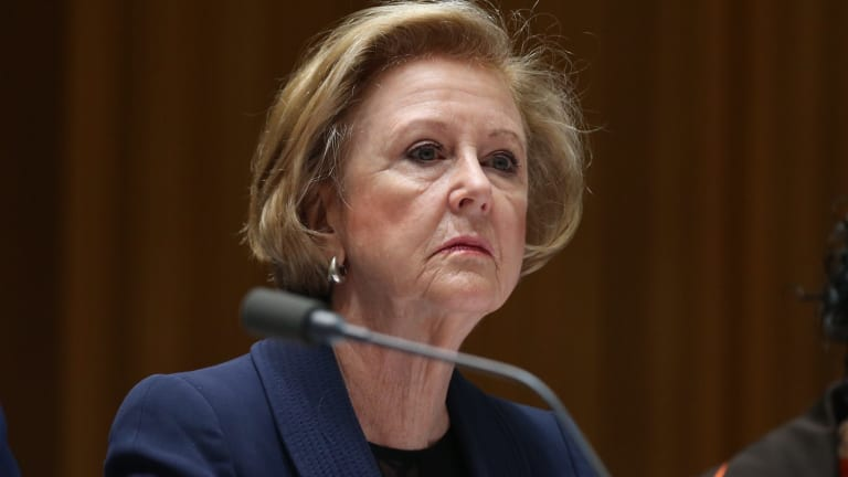 Human Rights Commission president Gillian Triggs has had a fractious relationship with the Coalition government.