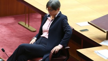 Labor senator Penny Wong delivered an emotional speech on same-sex marriage in the Senate.