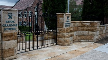 The sexual abuse of boys by teachers occurred at one of Australia's elite schools, Knox Grammar.