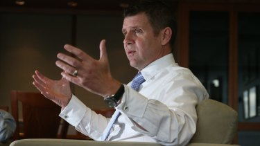 """""""Combining our know-how"""": NSW Premier Mike Baird."""