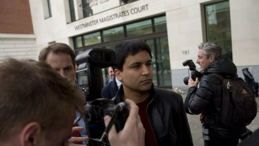 Sarao faces extradition to the US following the British judge's ruling on Wednesday.