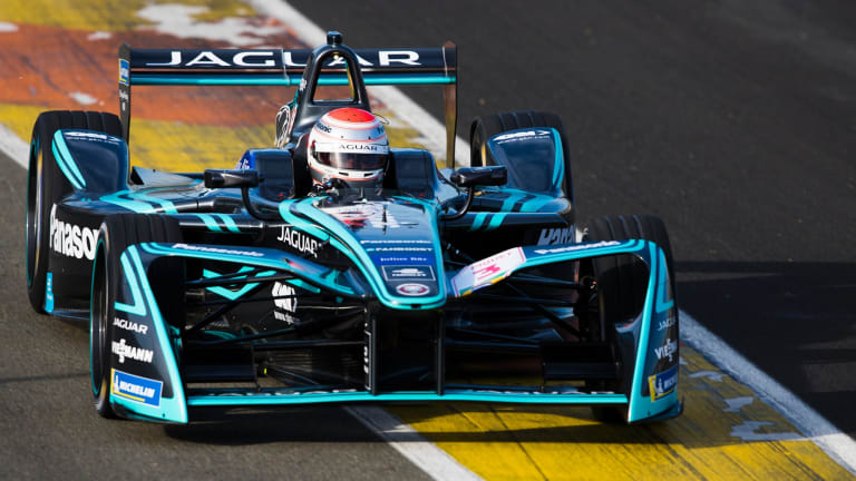 Cat people: Jaguar is one of several car makers committed to Formula E.