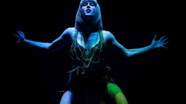 Holly Durant reprises her veil dance in Finucane & Smith's <i>Glory Box</i>.