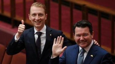 Liberal senators James Paterson and Dean Smith have put forward rival same-sex marriage bills.
