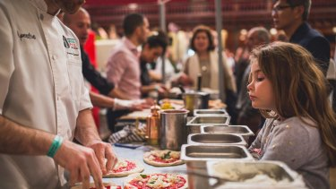 Indulge yourself at the Italian Wine and Food Festival.