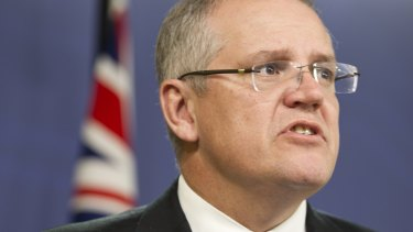 Minister for Social Services, Scott Morrison.
