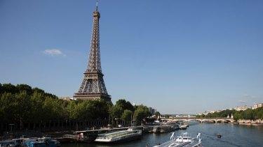 Paris, the City of Light.