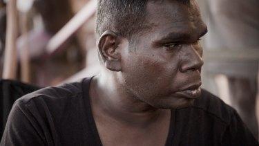 Geoffrey Gurrumul Yunupingu in a still from the documentary film ''Gurrumul''.