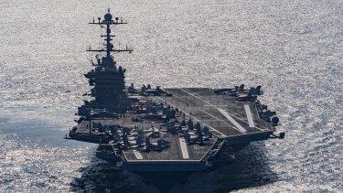Aircraft carrier USS Harry S Truman.