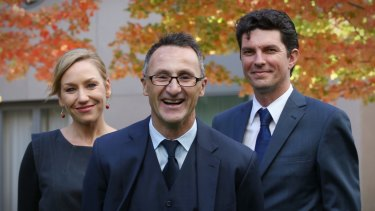 Senator Ludlam emerged as one of two co-deputy leaders – with Larissa Waters – when Richard Di Natale took over leadership of the party in 2015.