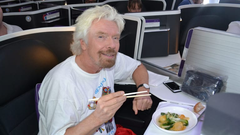 "Richard Branson, who has said he avoids beef because of the damage livestock does to the Amazonian rain forests, reckons one day all meat will ""either be clean or plant-based""."