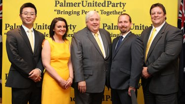 It didn't take too long for Palmer's party to be anything but united.