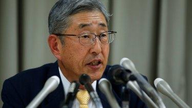 Government Pension Investment Fund president Takahiro Matani.