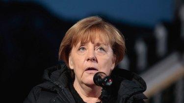 German Chancellor Angela Merkel in Kreuth, Germany, on Wednesday.