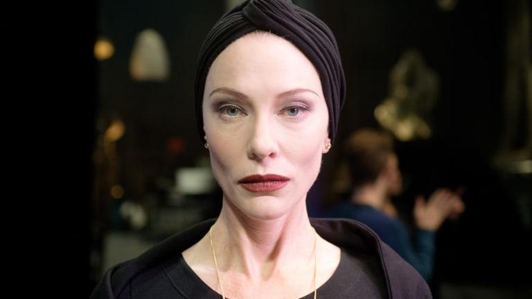 Cate Blanchett adopts multiple roles in <i>Manifesto</i>.